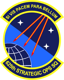 625th Strategic Operations Squadron Unit of the US Air Force Global Strike Command responsible for survivable nuclear operations