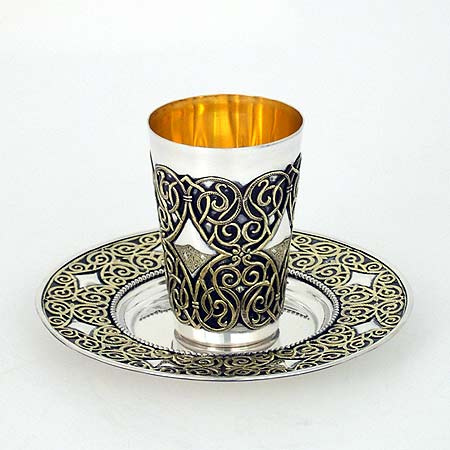 640 JUDAICA KIDDUSH CUP