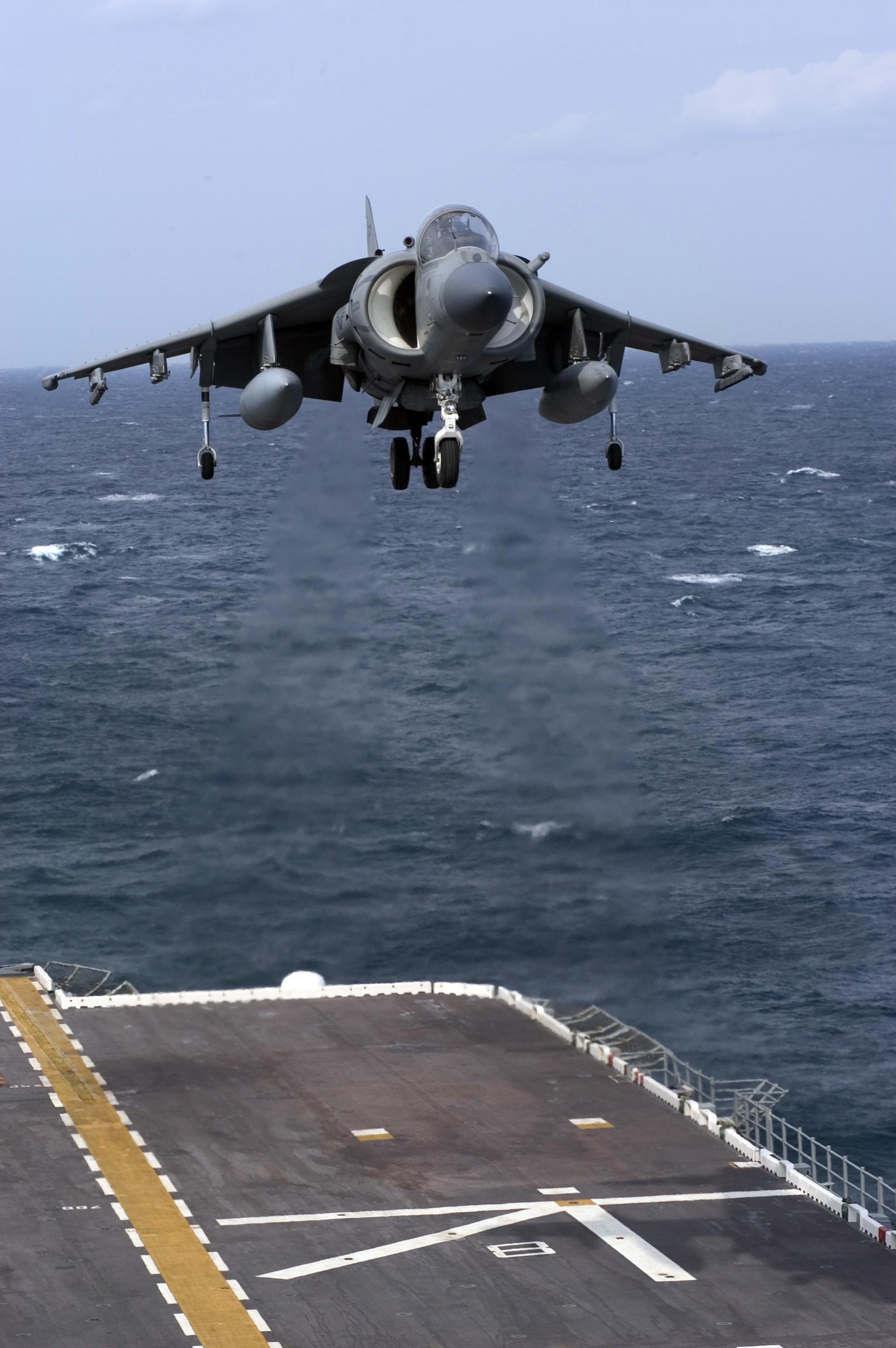Aviones: Harrier