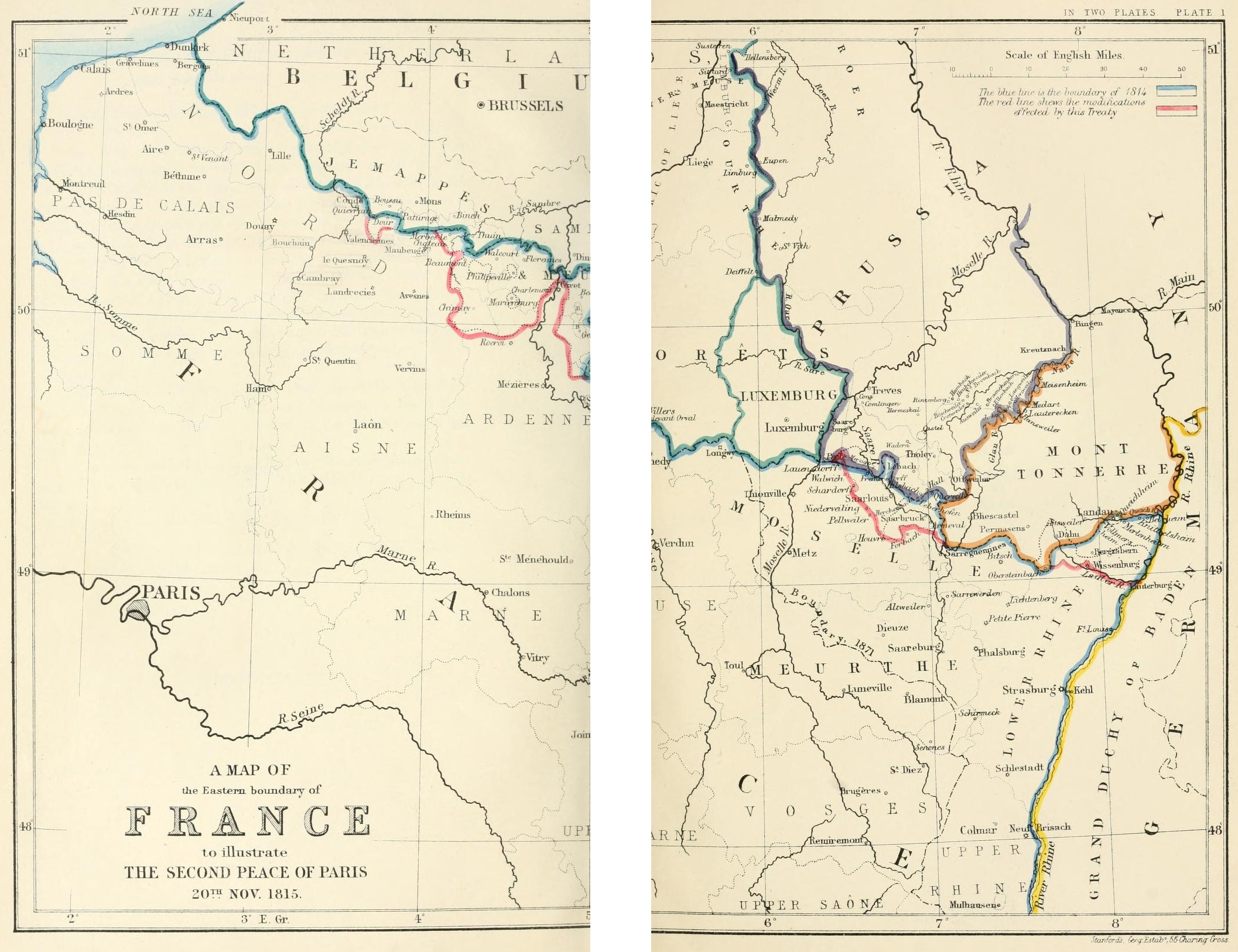 File A Map Of The Eastern Boundary Of France To Illustrate The