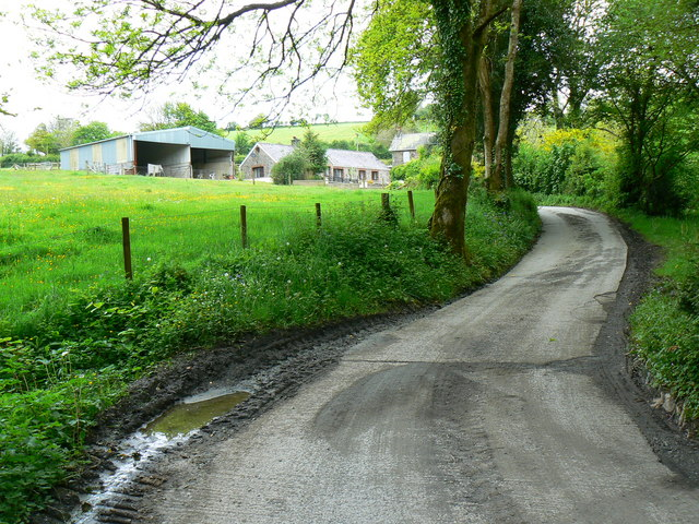 Aber Farm, Coed Howell - geograph.org.uk - 1316265