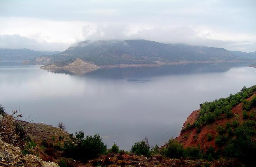 Denizli Turkey  City new picture : Adiguzel Dam Reservoir Usak Denizli Turkey