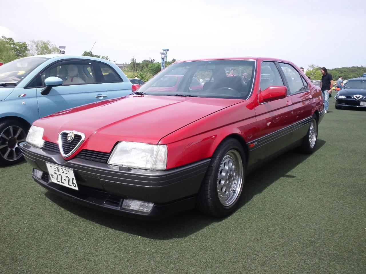 File:Alfa Romeo 164 in Japan.JPG