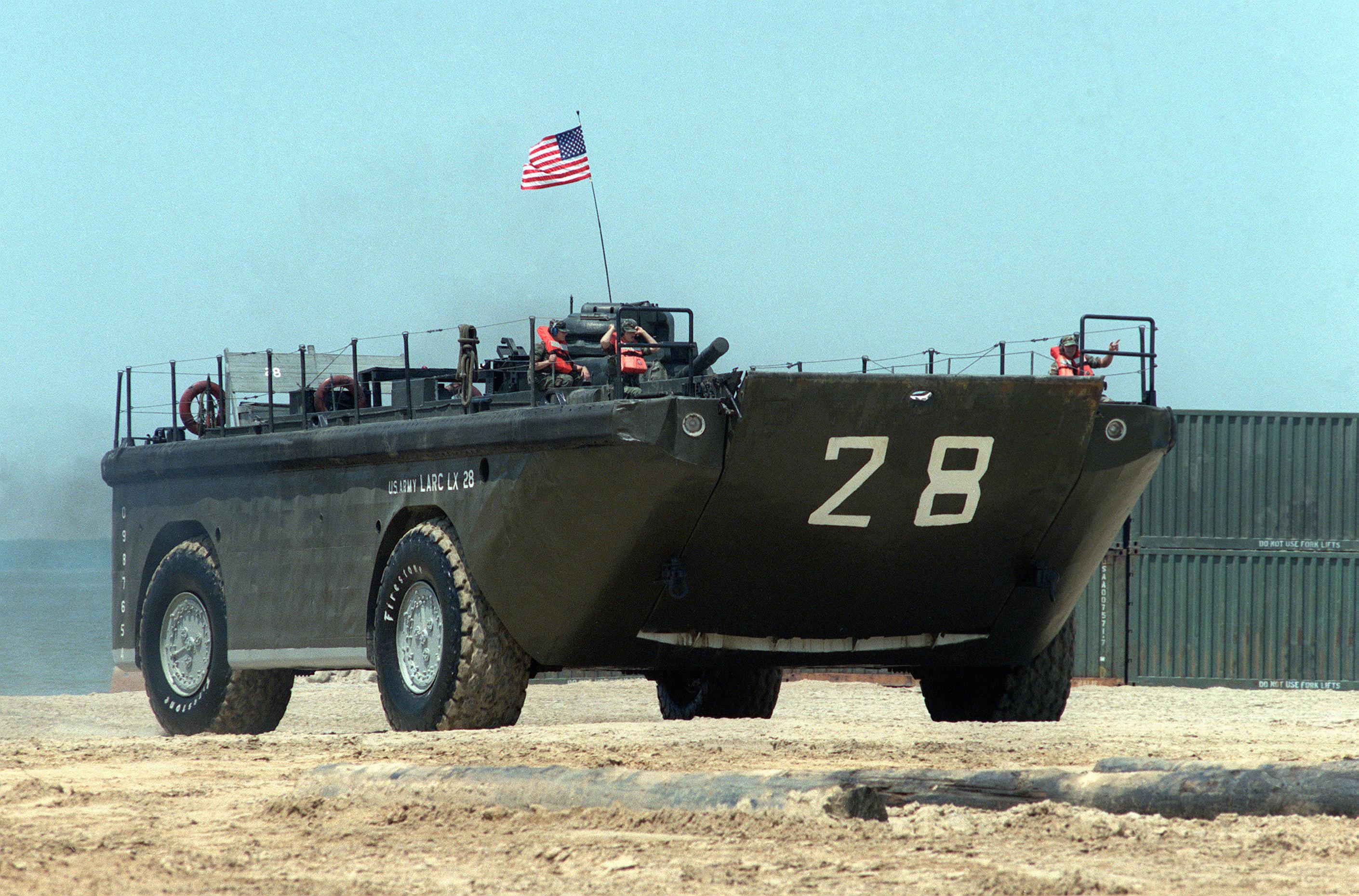 Army Surplus Landing Craft