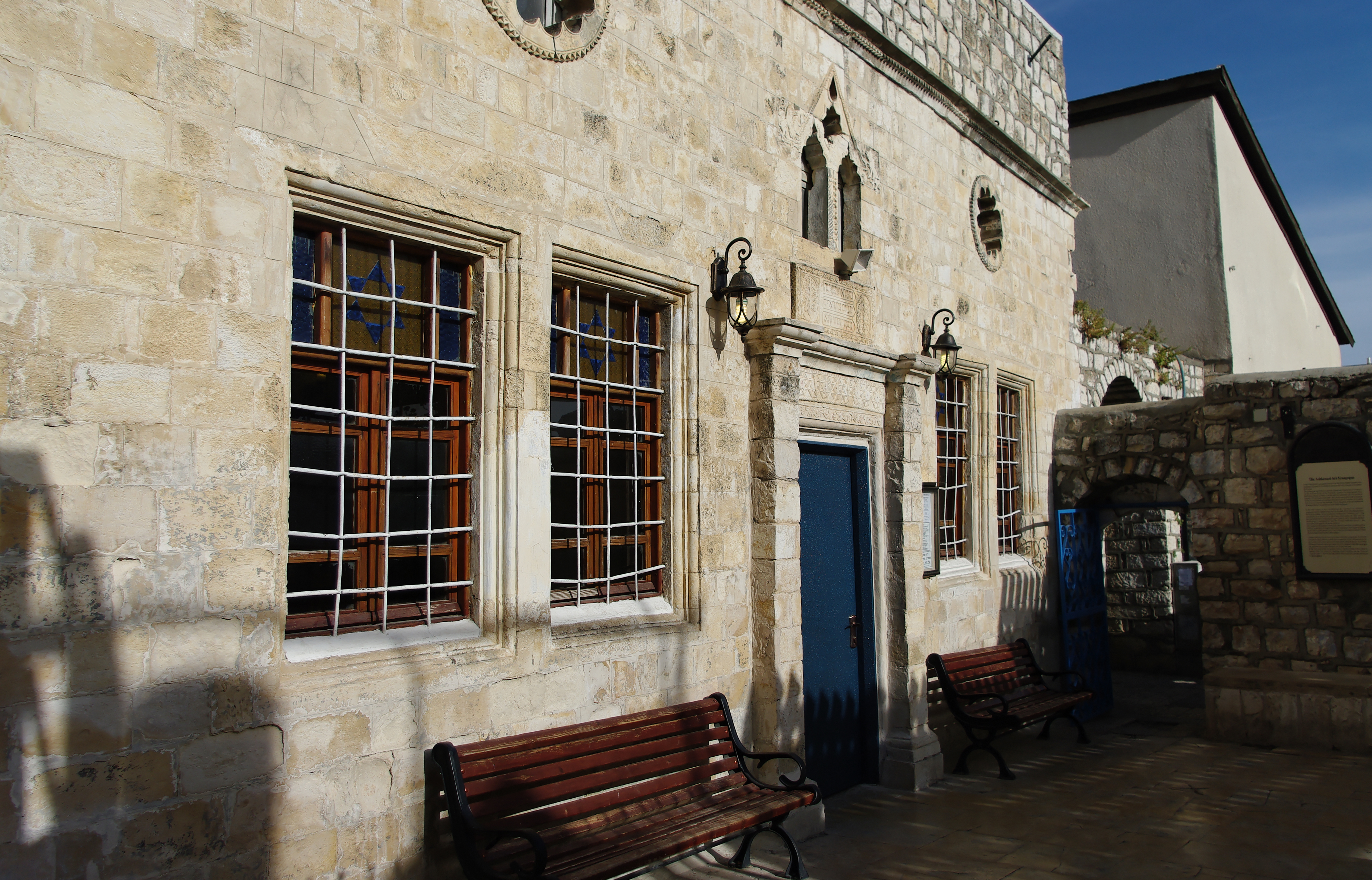 File:Ari Ashkenazi Synagogue, Tsfat (Safed) - Israël ...