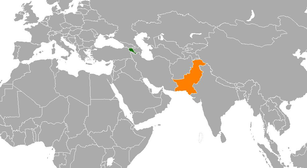 Armenia Pakistan Relations Wikipedia