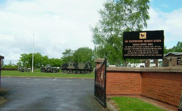 Whittington Barracks - Wikipedia