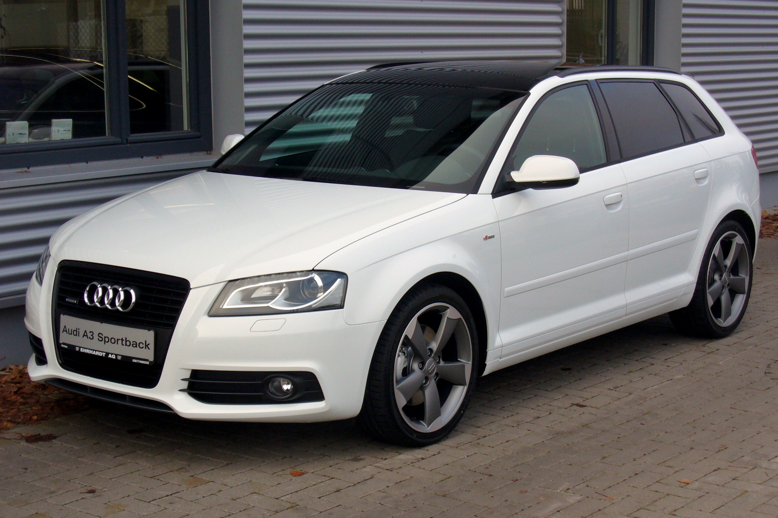Audi Ibis White Spray Paint