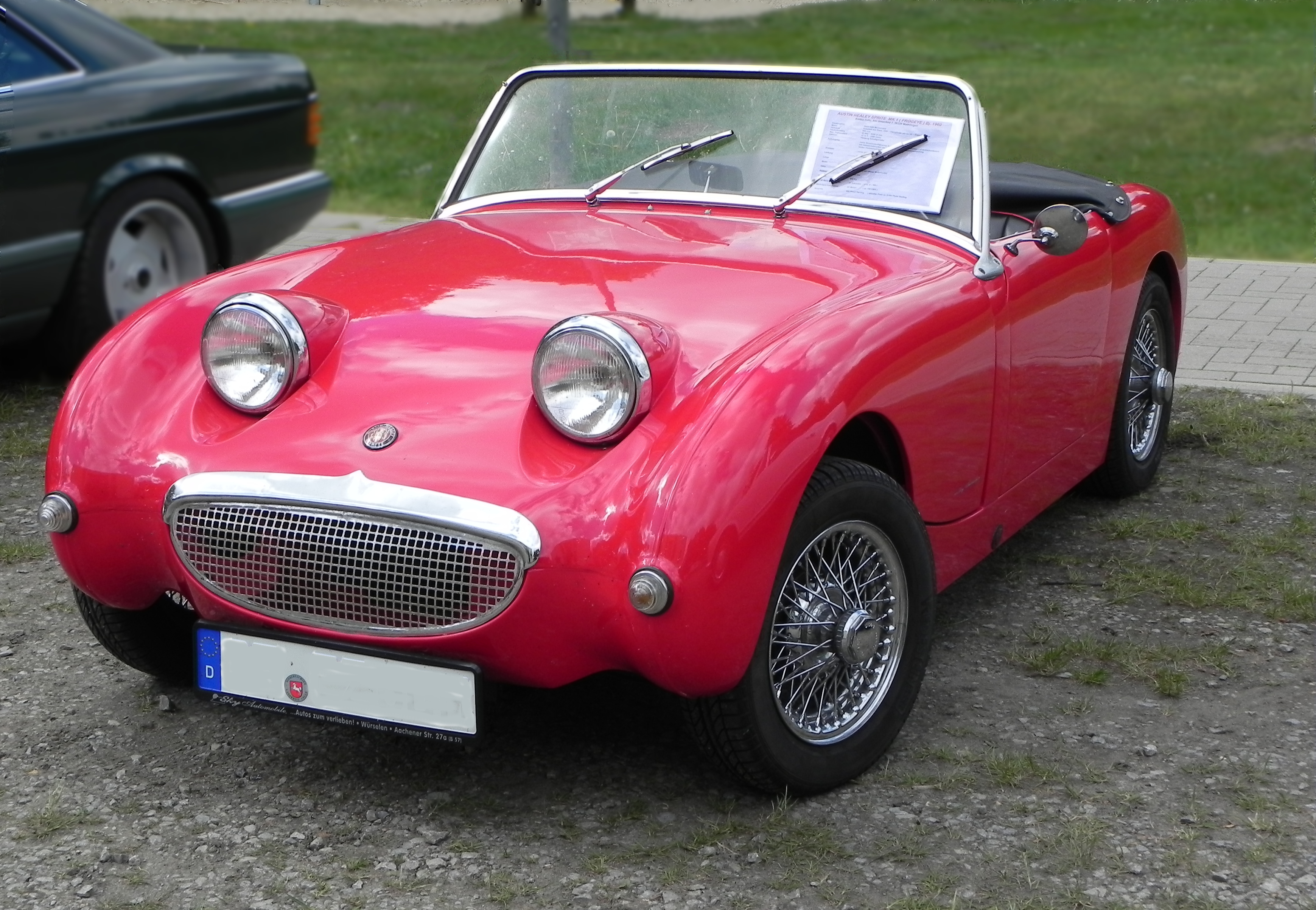Healey Sports Car