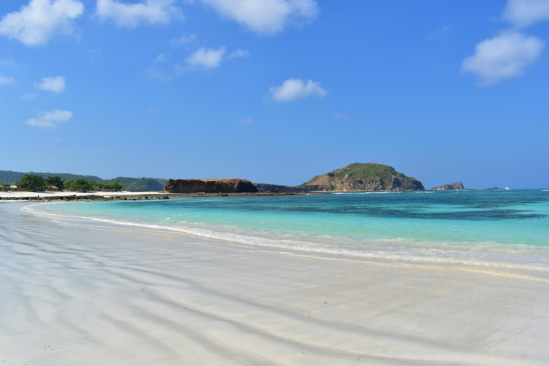 NTB, Nusa Tenggara Barat, Lombok, Pantai Tanjung Aan,