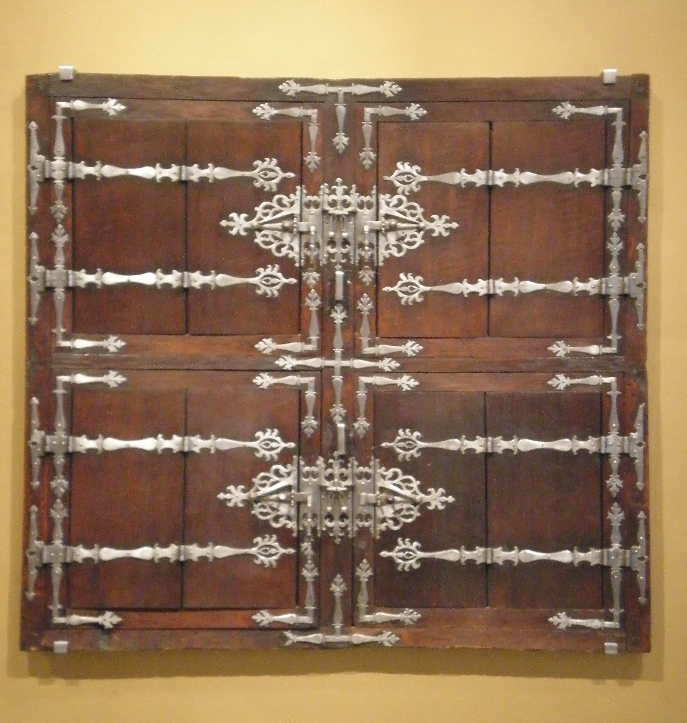 Decorative Iron Shutters Windows