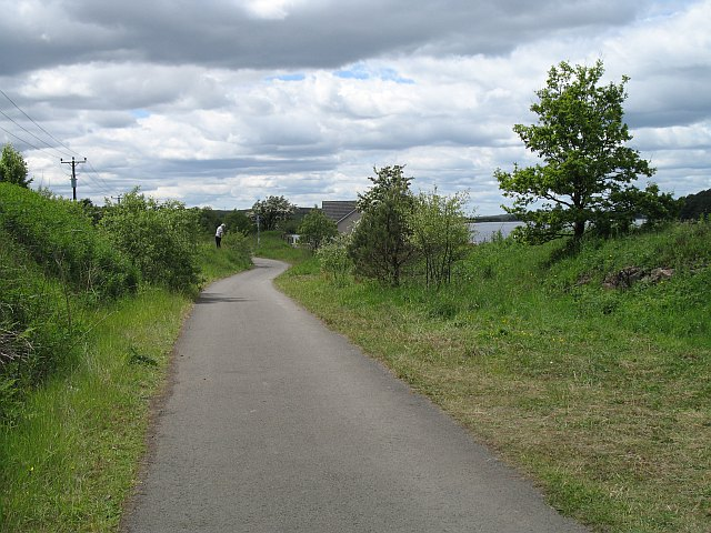 Bathgate to Airdrie railway - geograph.org.uk - 1074254