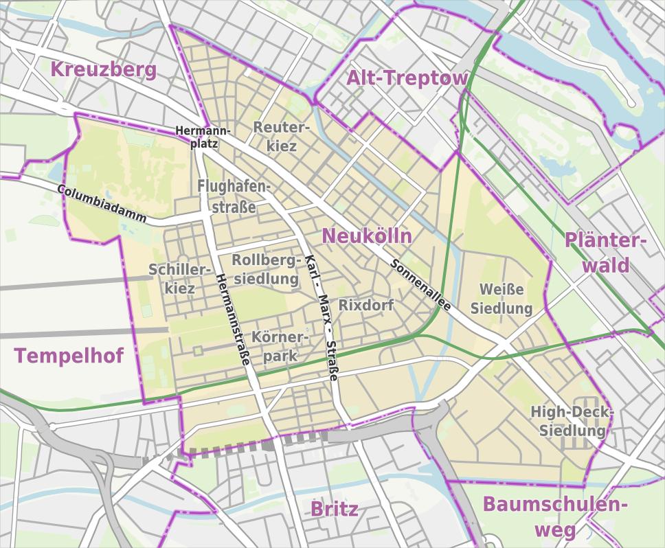 Karte Von Berlin Mitte - Berlin mitte map