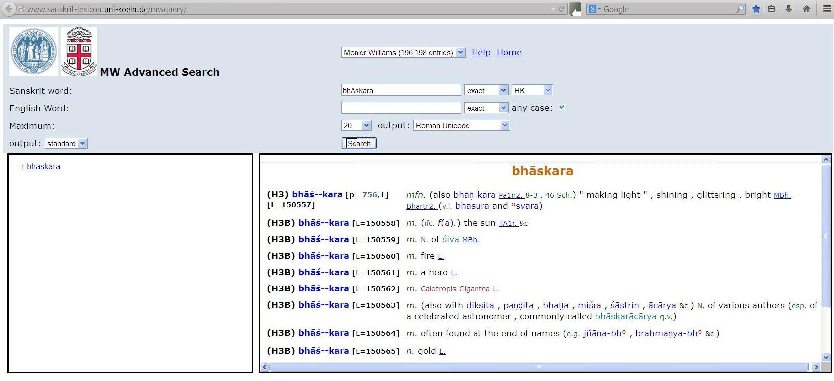 monier williams sanskrit english dictionary