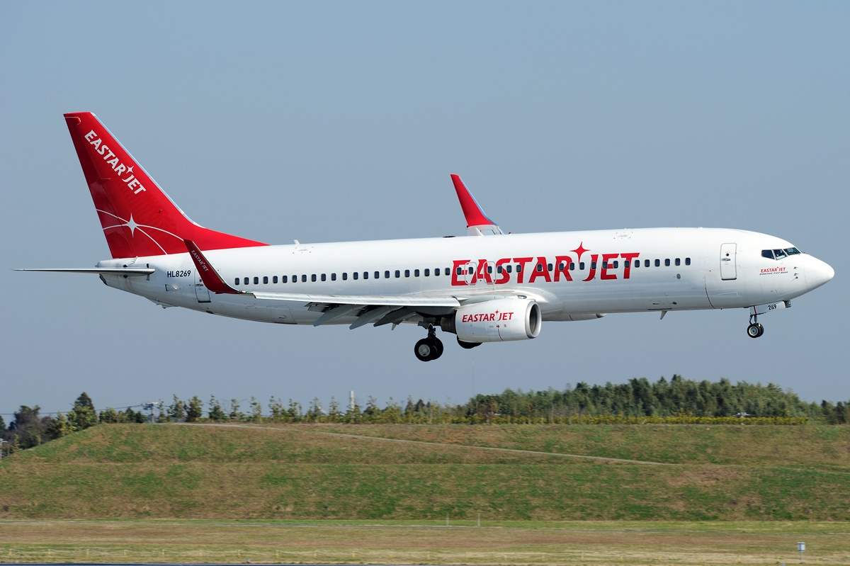 Airline Eastar Jet (Eastar Jet). Official sayt.2