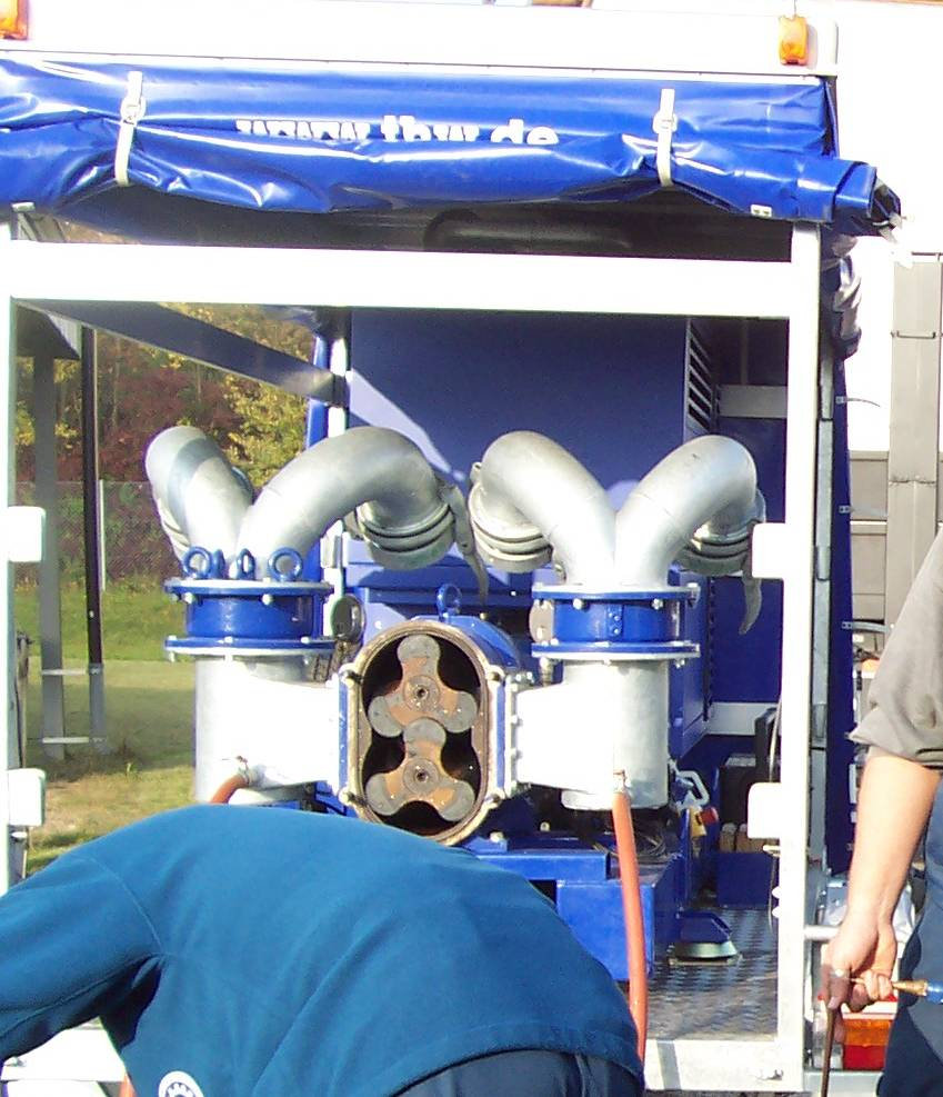 How To Clean Engine >> Lobe pump - Wikipedia
