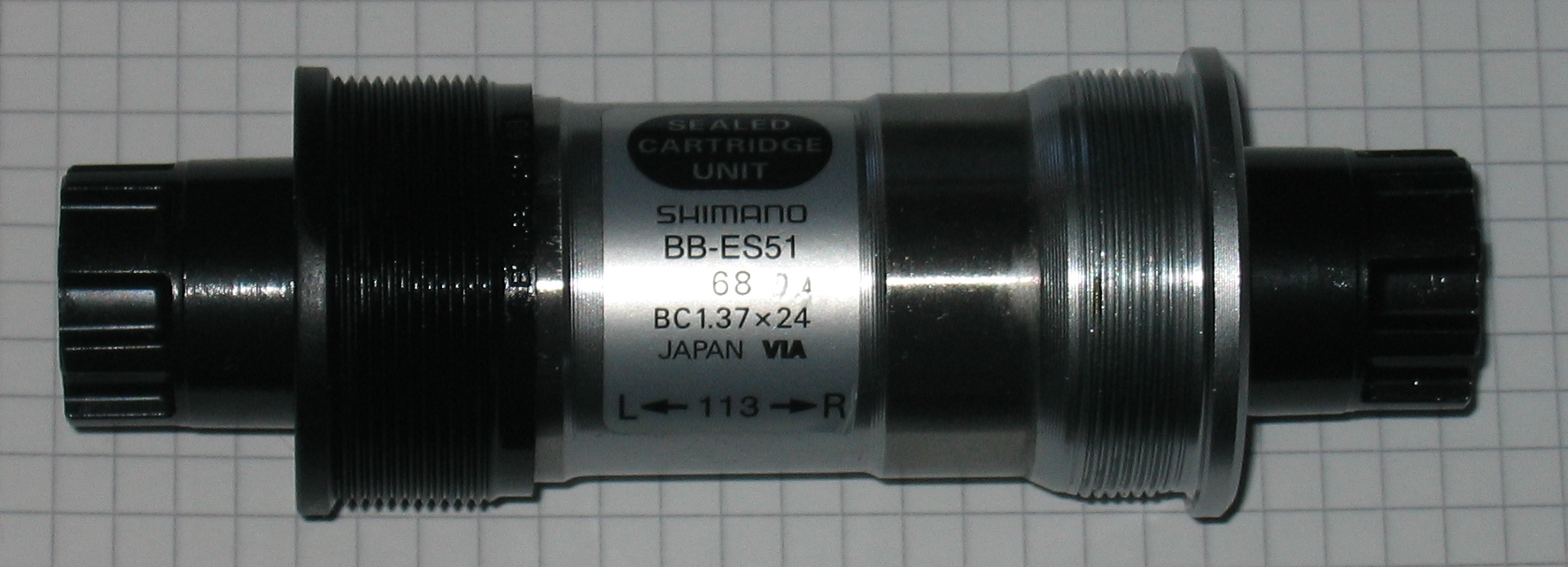 Isis external bottom bracket