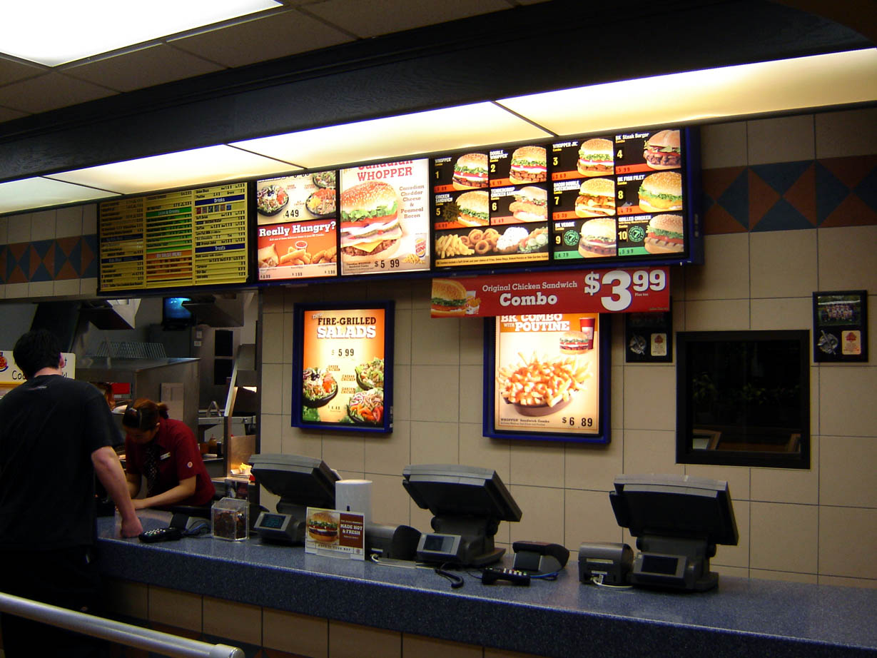 Inside Fast Food Restaurants