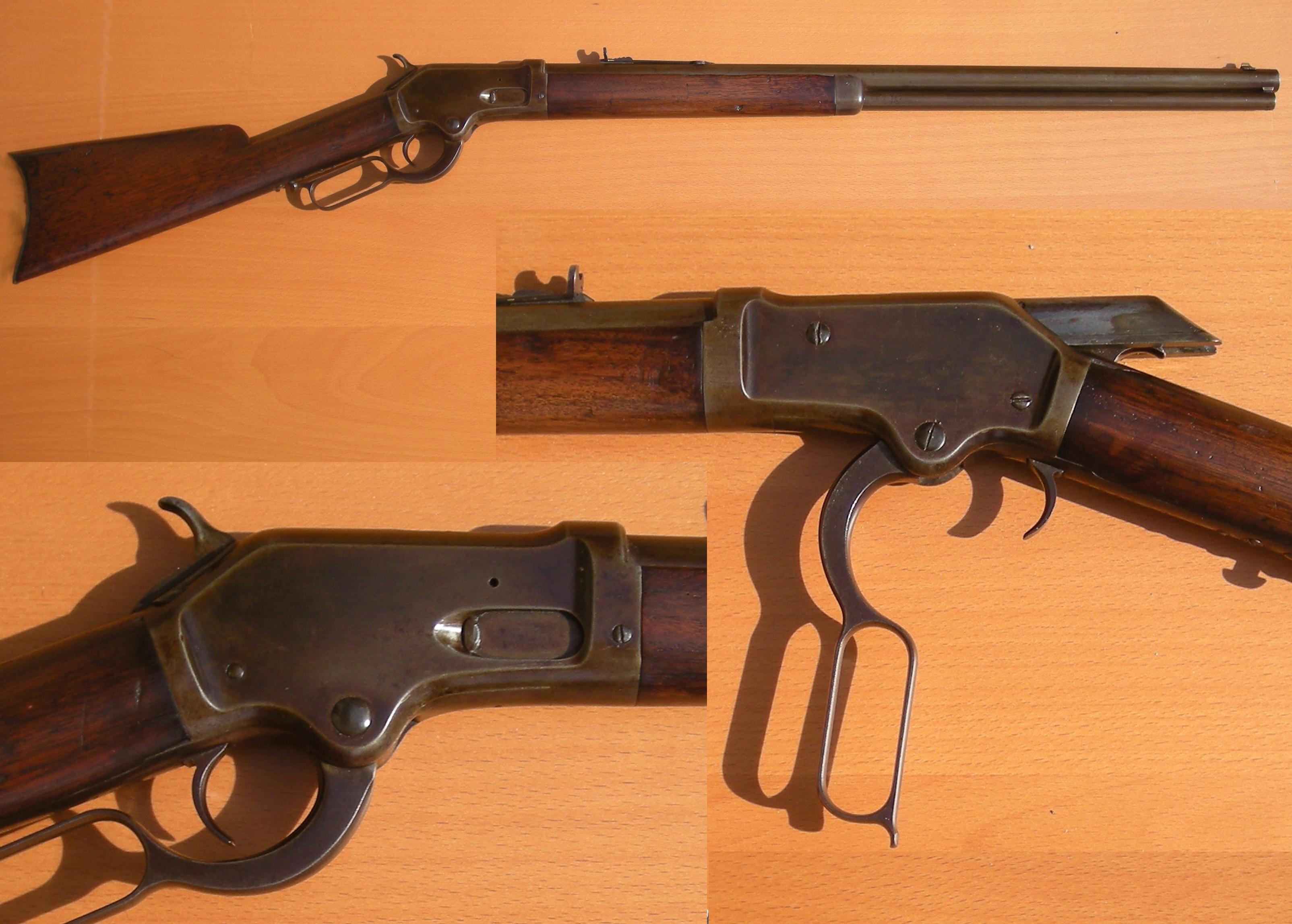 Colt Burgess Rifle Wikipedia