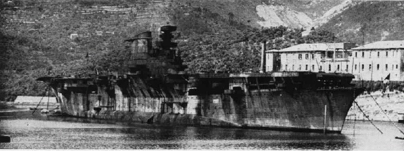 list of sunken aircraft carriers