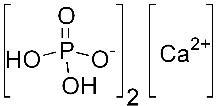 Depiction of Fosfato de calcio