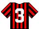 Camiseta con numero 3 Milan.png