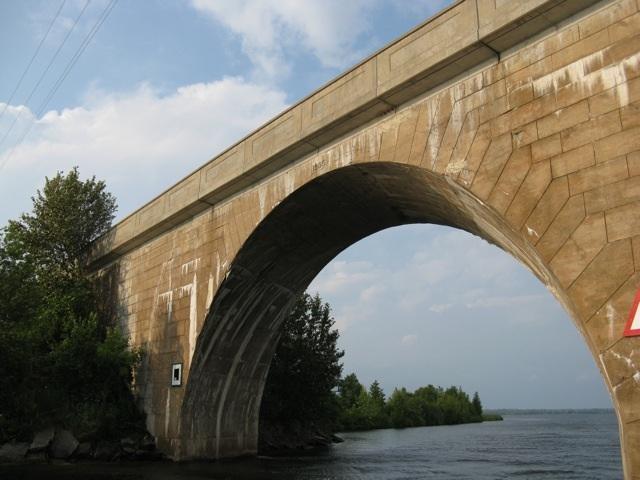 Canal Lake Concrete Arch Bridge