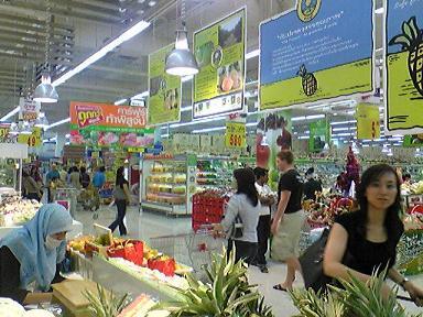 Carrefour Bangkok. Source : Ajtnk0707/Wikipédia