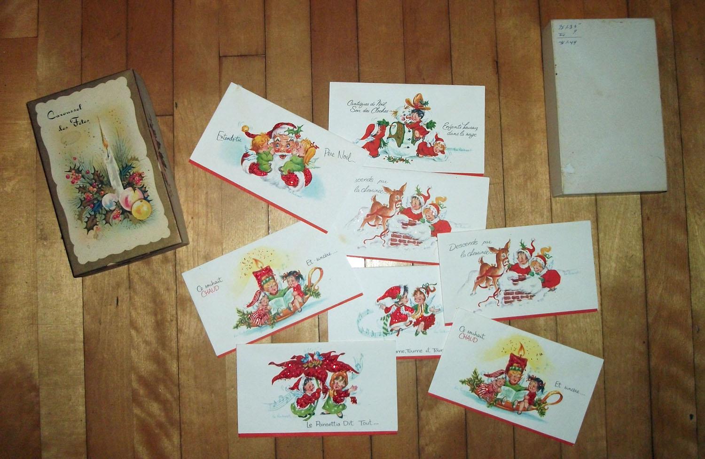 Filecartes De Noel Avec Dessins De Norman Rockwell