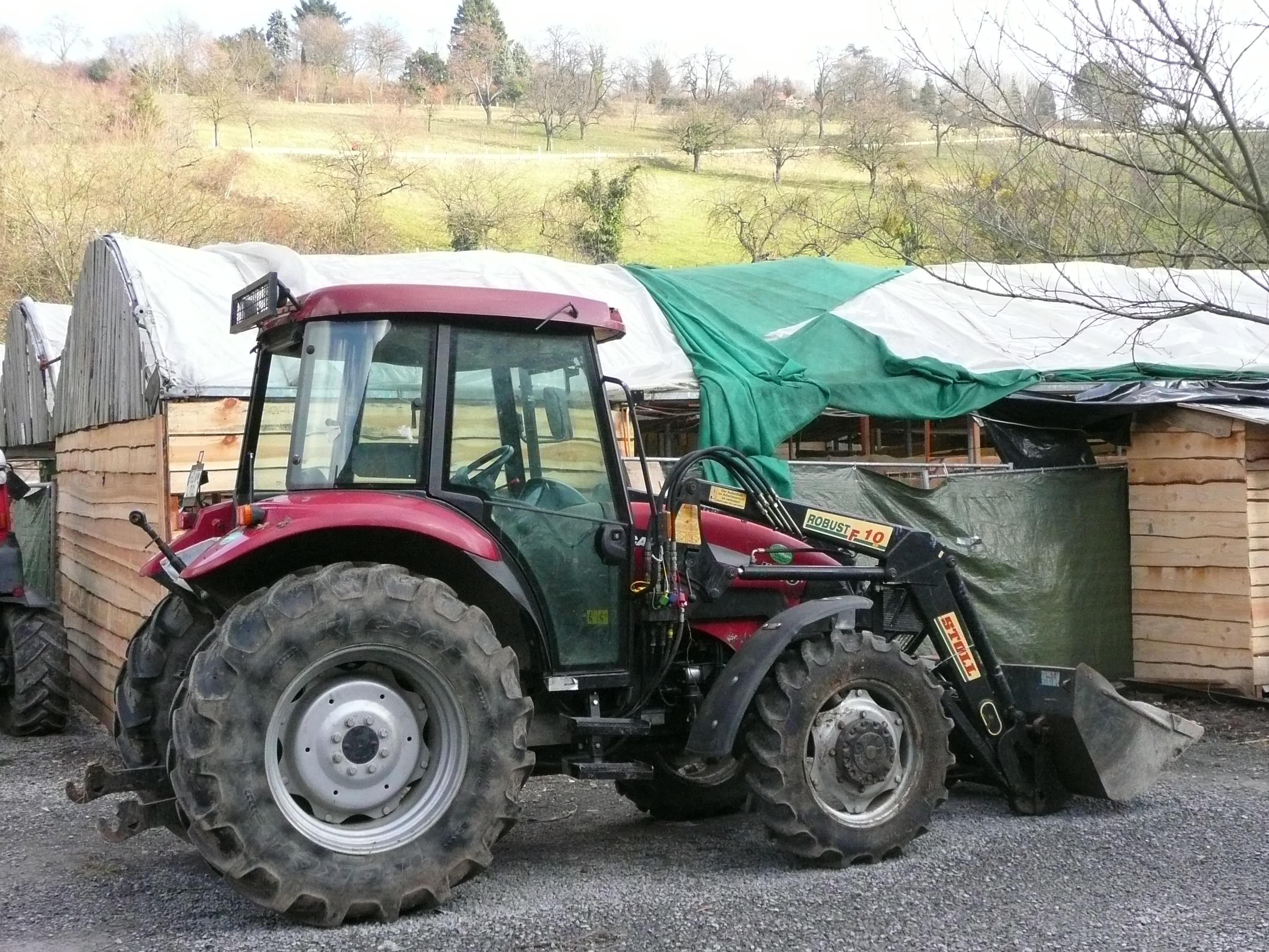 file case traktor mit stoll robust f10 frontlader jpg. Black Bedroom Furniture Sets. Home Design Ideas