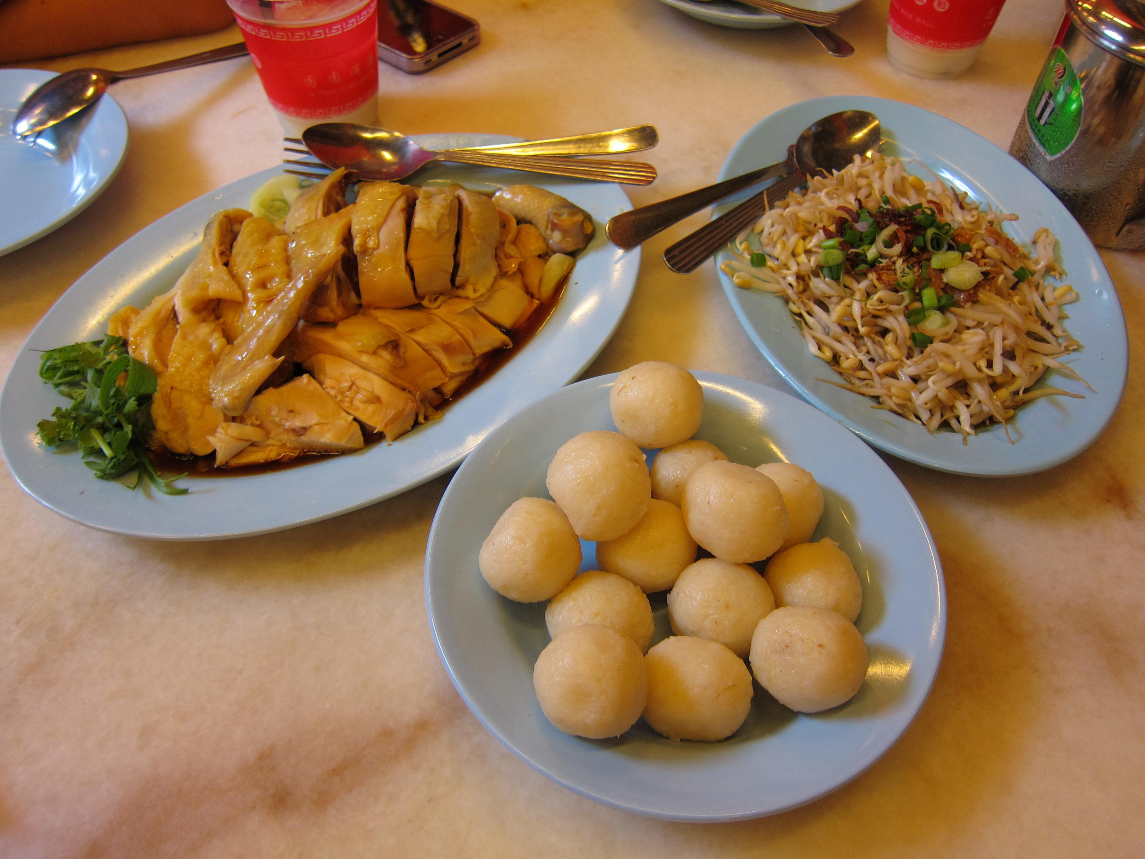 File:Chicken rice balls in Melaka.jpg - Wikimedia Commons