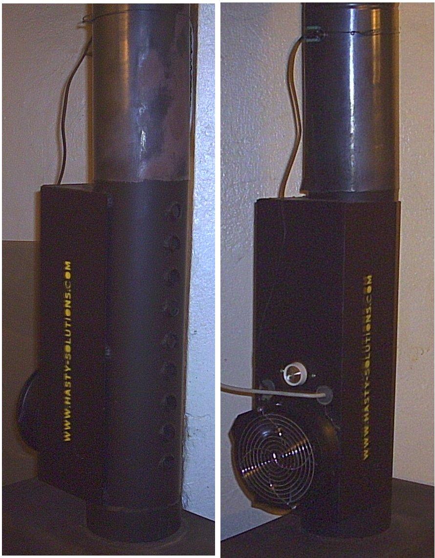 Single Room Heat Recovery Bathroom Fan