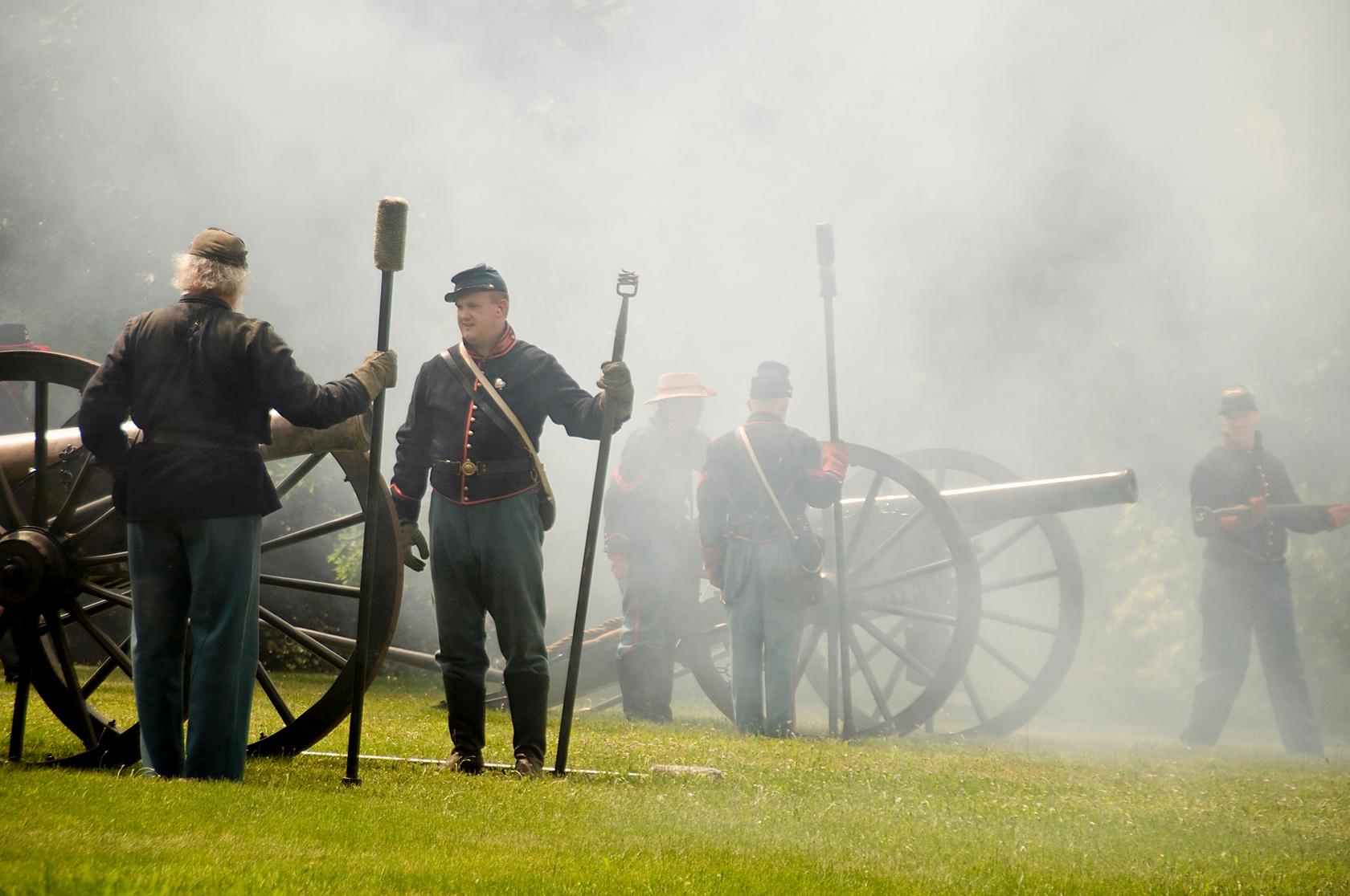 Tredegar Iron Works Cannon 1861 Confederate Civil War Bronze Commemorative