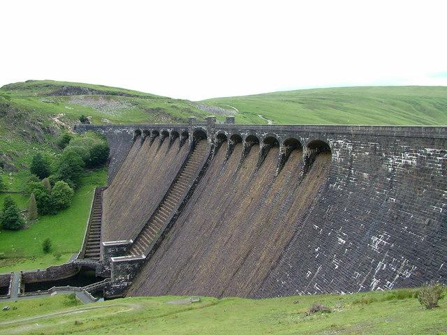 Claerwen Reservoir - geograph.org.uk - 875673