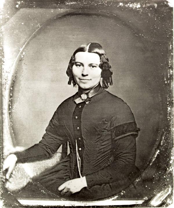 Clara Barton, 1851