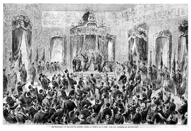 Încoronarea lui Carol ca Rege al României 10 mai 1881