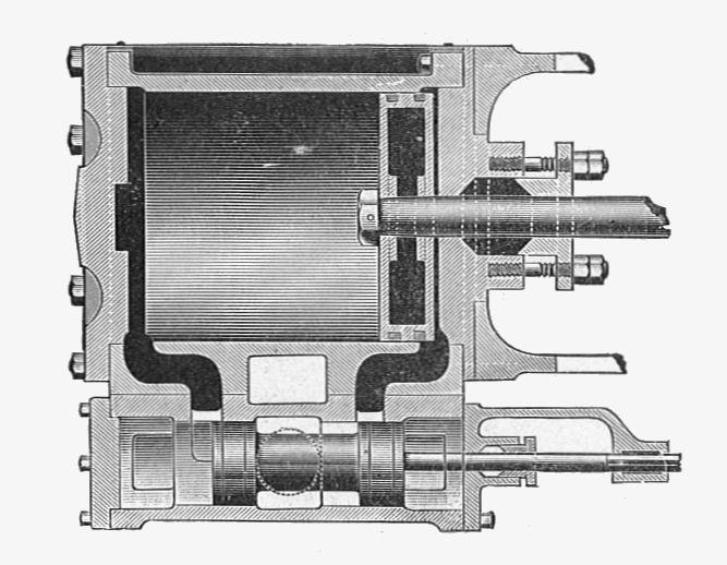reciprocating steam engine plans