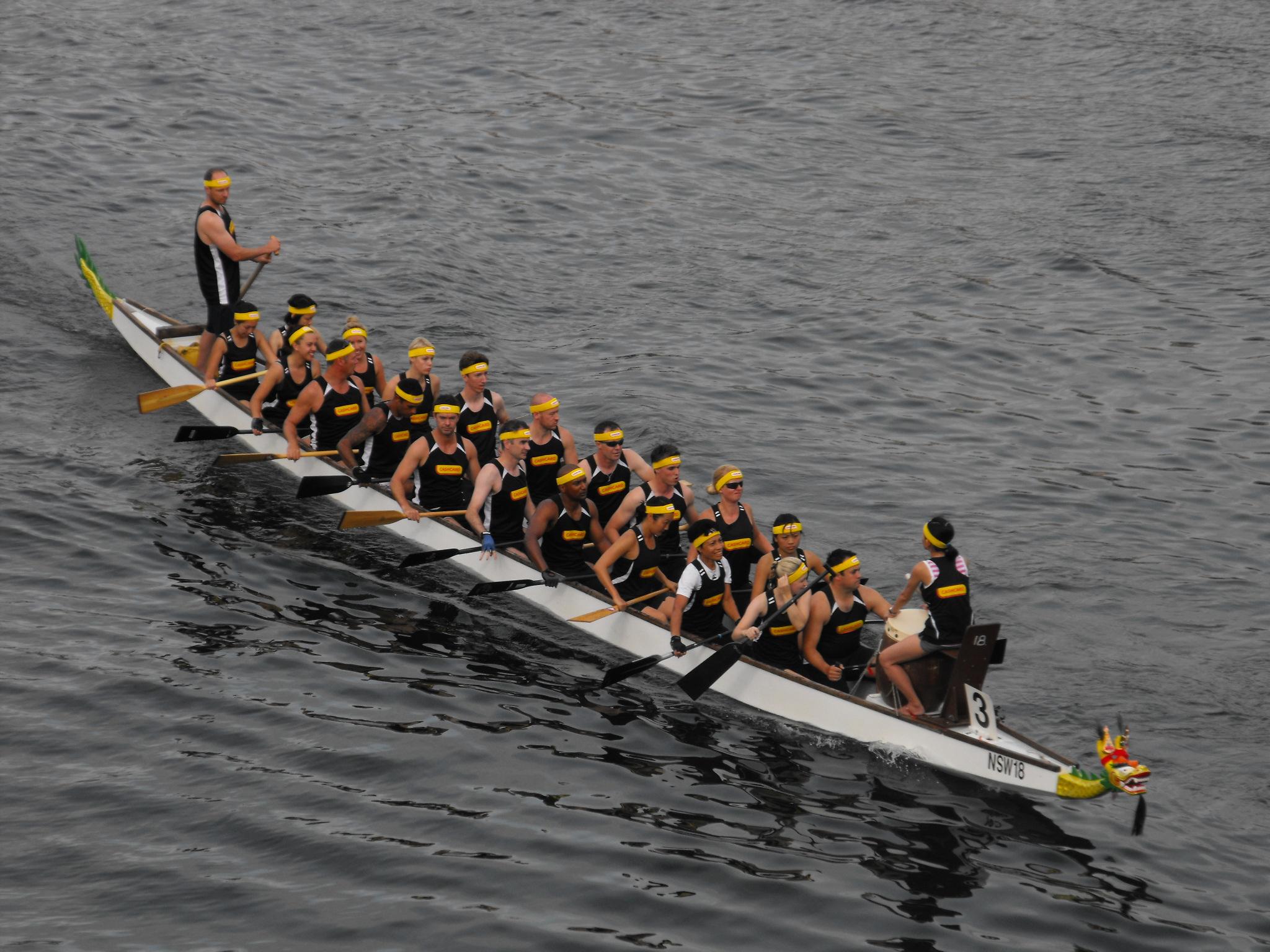 лодка дракон каноэ