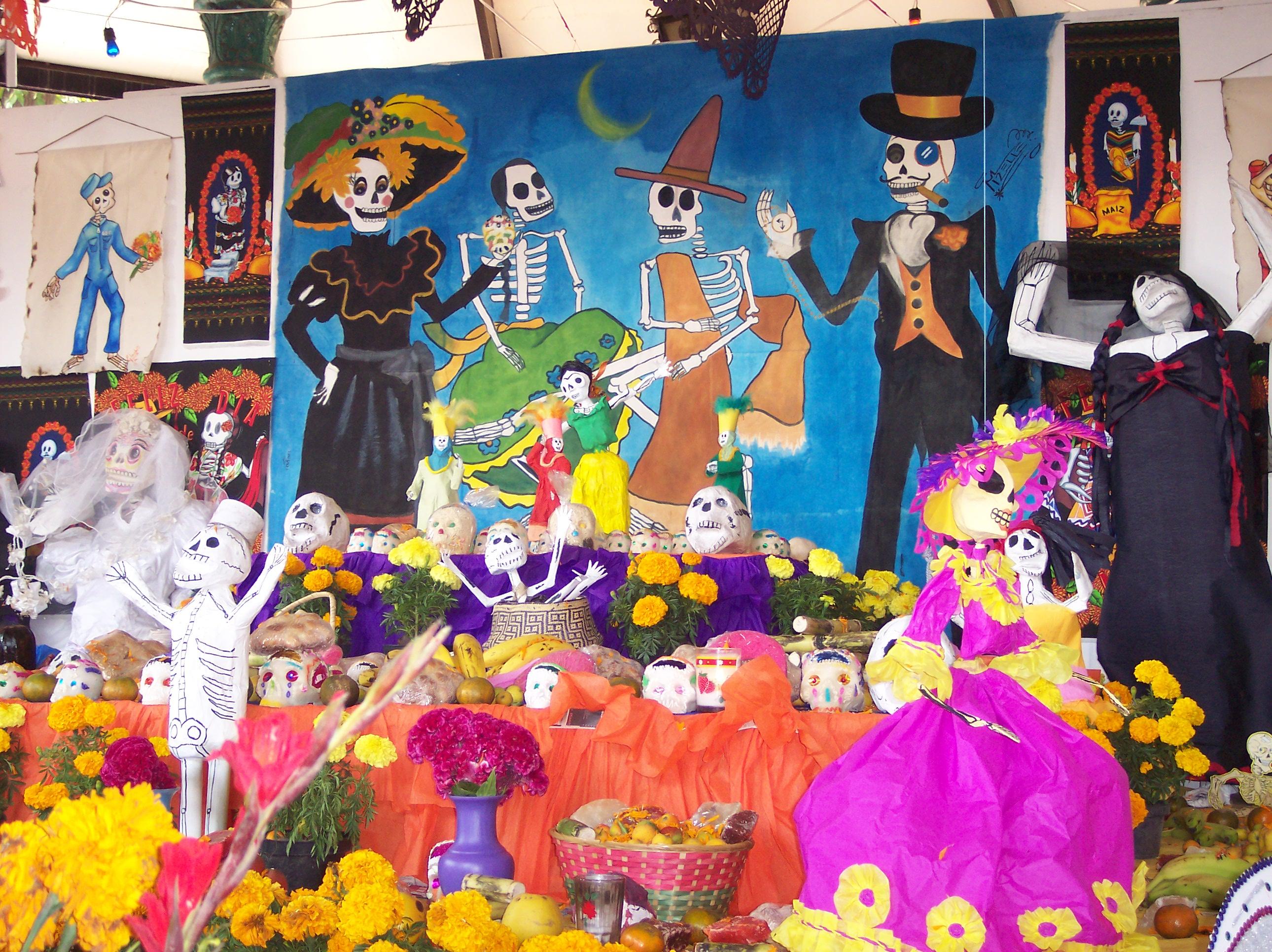 Decoracion Oficina Dia De Muertos ~ Dia de muertos en M?xico  Taringa!