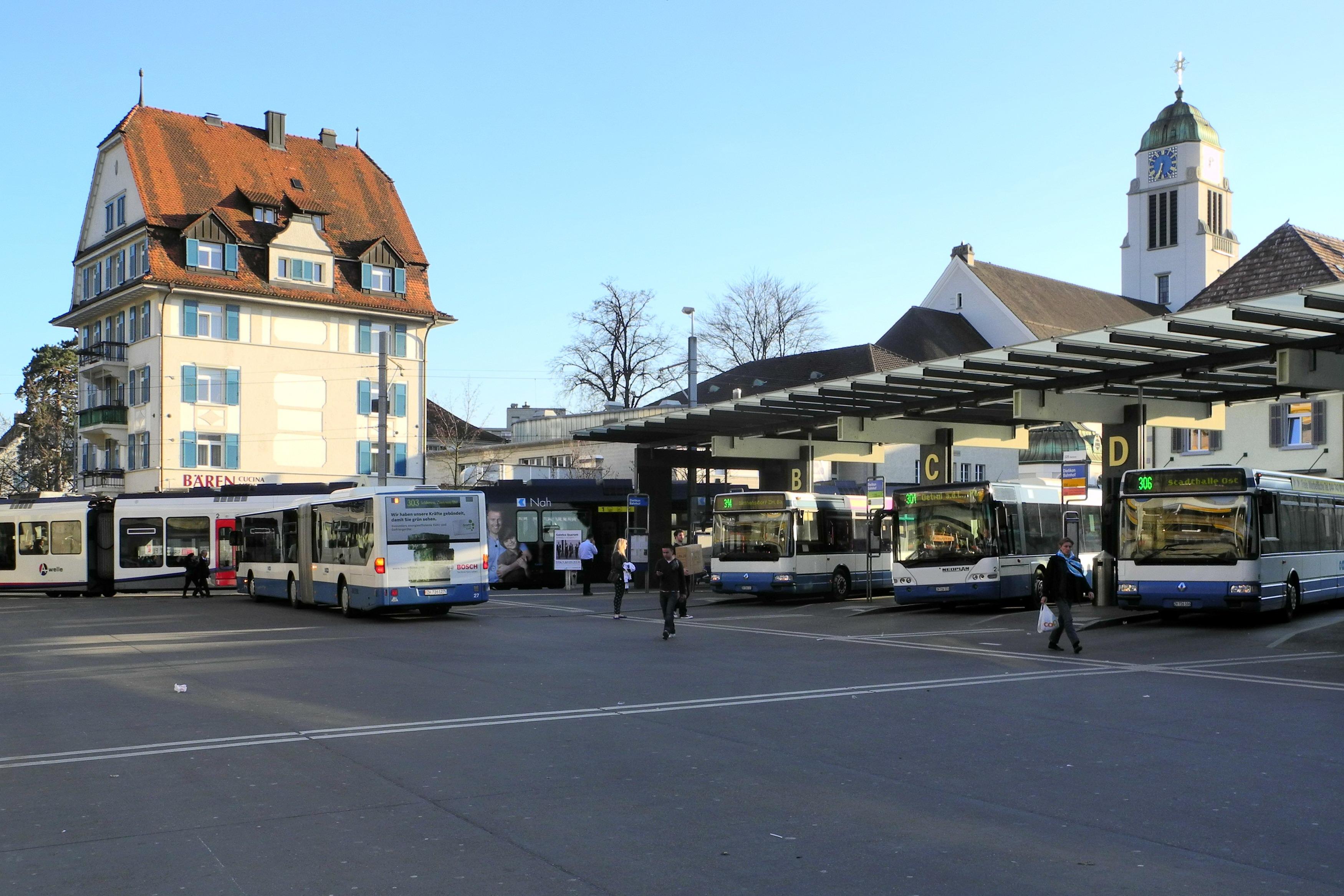 Dietikon Switzerland  city photos gallery : Description Dietikon Bahnhof 2012 03 26 18 33 22 P7000 ShiftN
