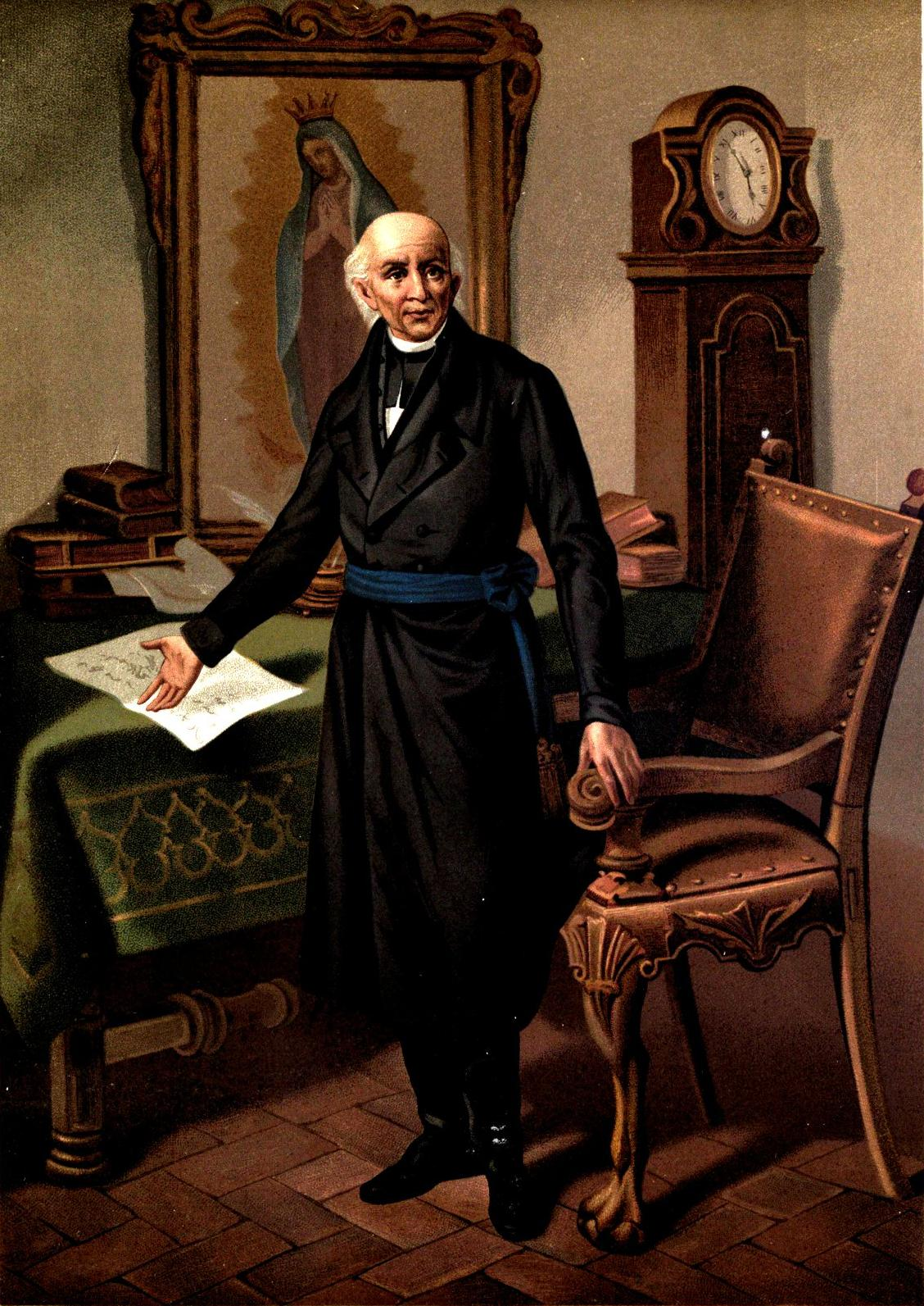 padre miguel hidalgo Miguel hidalgo y costilla led the mexican independence movement against   born in may 1753 in guanajuato, hidalgo entered the priesthood in 1779,.
