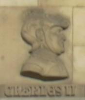 Effigie de Charles II, se trouvant sur la Porte de la Craffe, à Nancy
