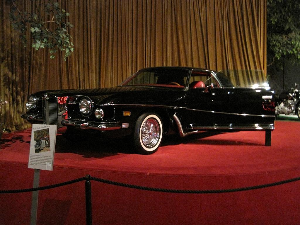 Elvis' Stutz Blackhawk at the Elvis Presley Automobile Museum in Memphis.