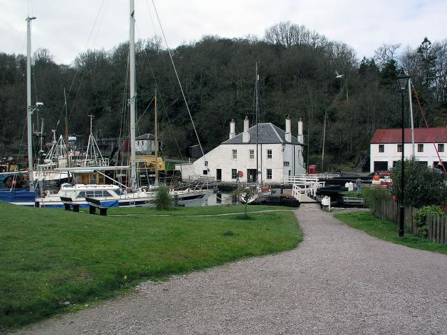 End of the Crinan Canal - geograph.org.uk - 2244