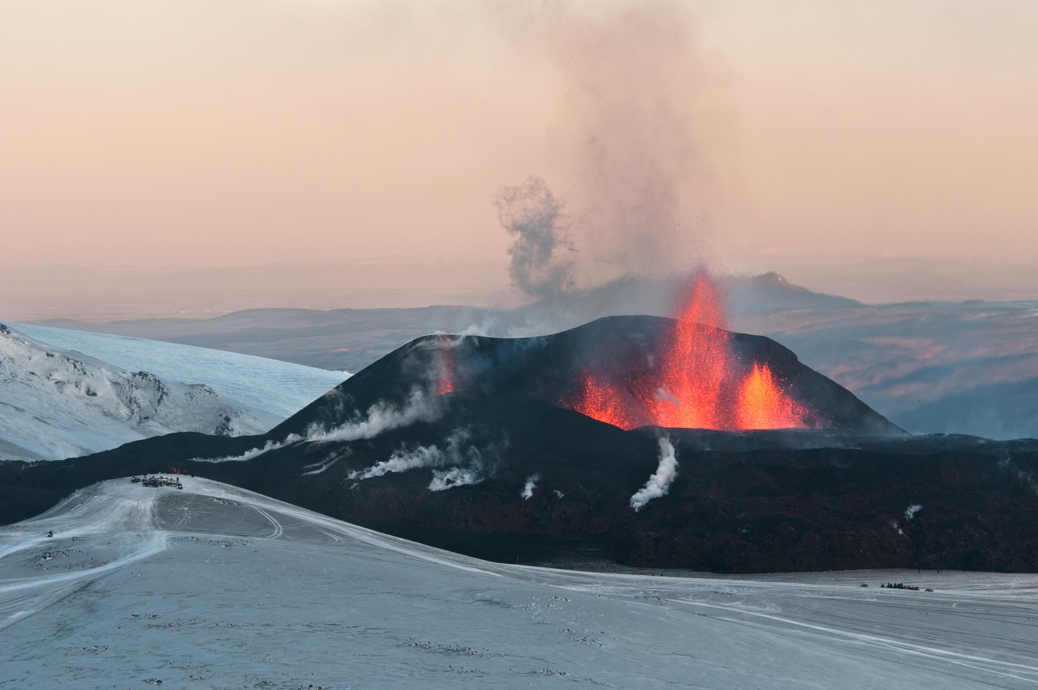 Eyjafjallajökull Ausbruch