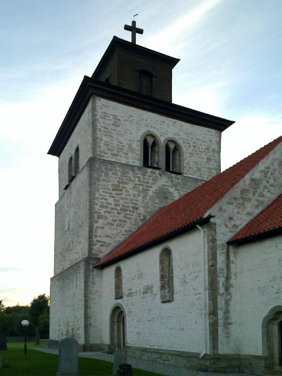 Bild av Fide kyrka