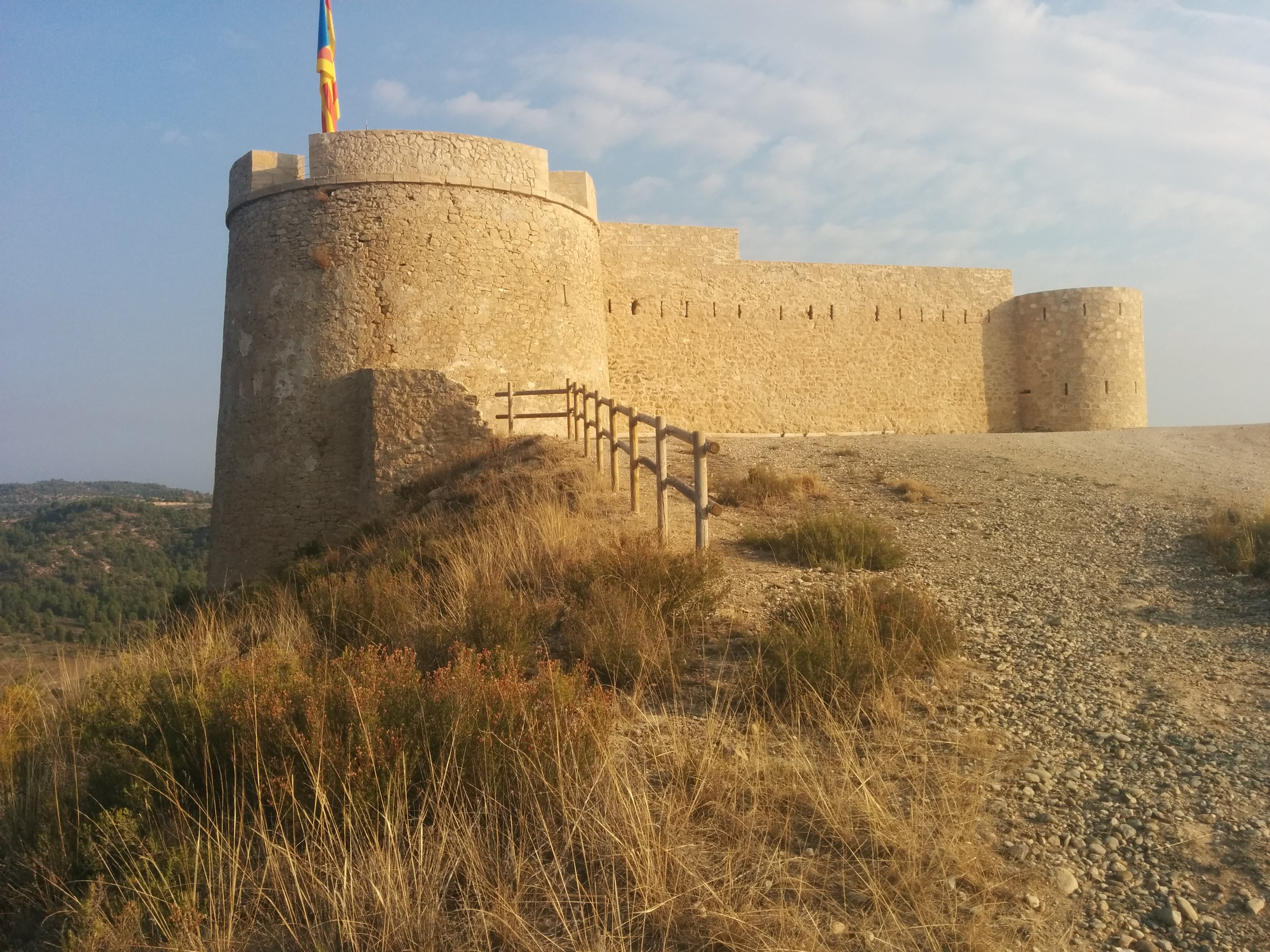 fileflix castell or flix castle or fort in catalonia 29 sept 2015 4