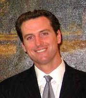Gavin Newsom in 2006 during a visit to Senator Dianne Feinstein in Washington D.C.
