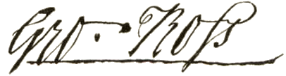 George Ross Signature