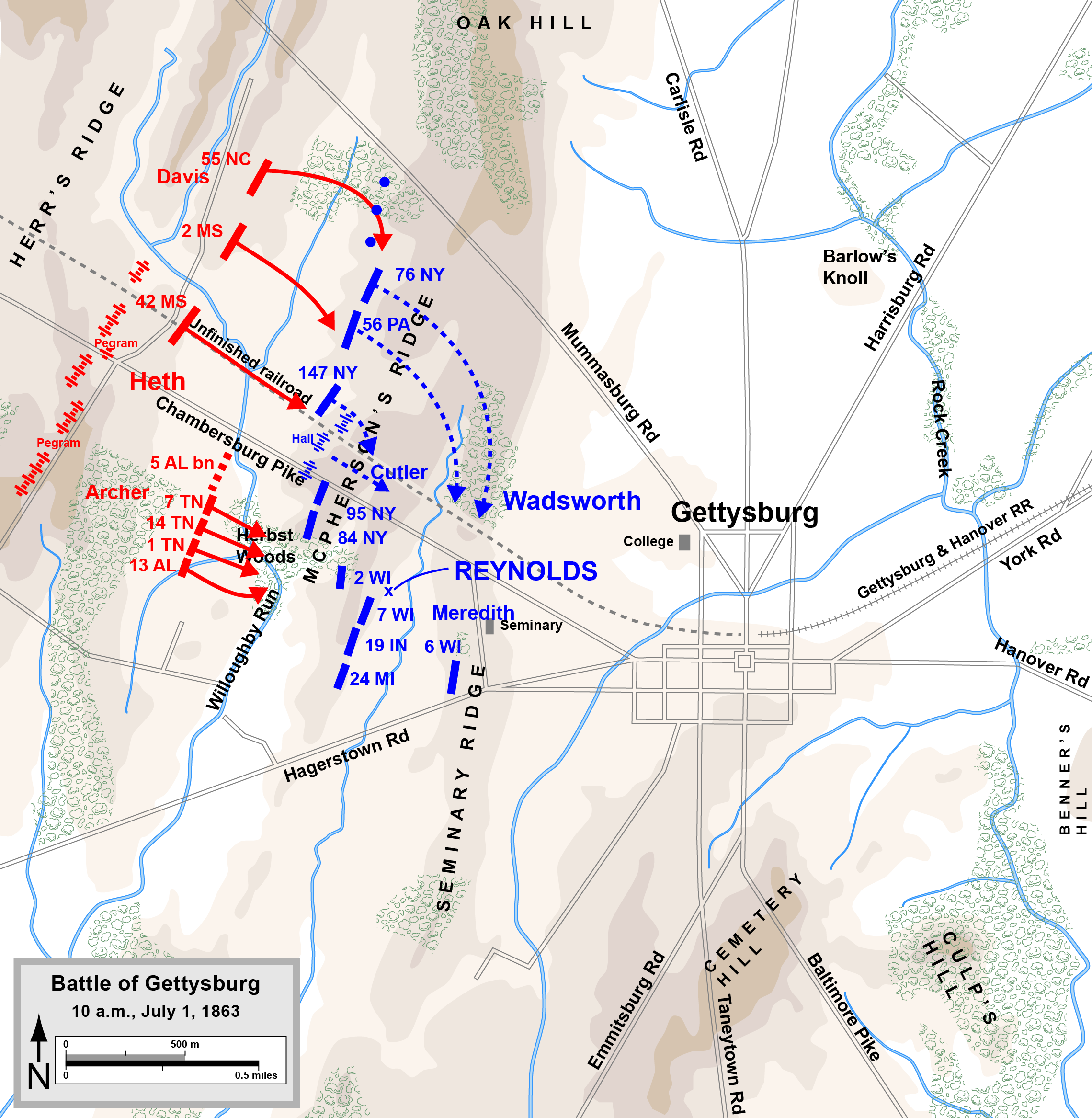 FileGettysburg Day1 1000png  Wikimedia Commons